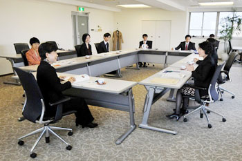 Meeting with the Director of the UNIC Tokyo