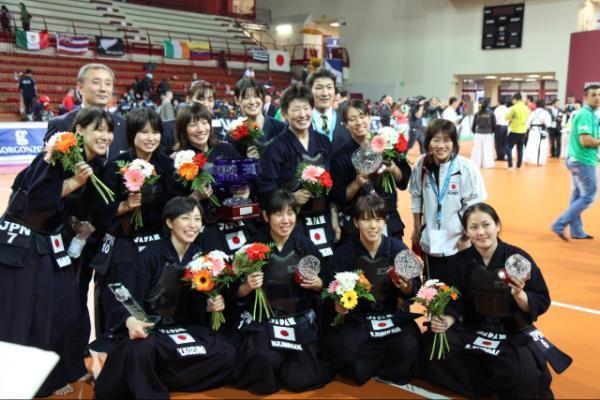 本学剣道部員が第15回世界剣道選手権大会での優勝に貢献