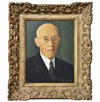 野上博士の肖像画