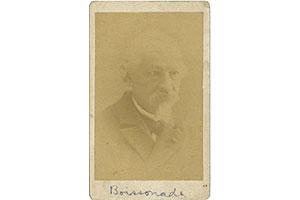 ボアソナードの肖像写真(本学所蔵)