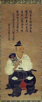 戦国期に描かれたと推察される「宮増弥左衛門画像」は、現存する能役者の肖像画としては最古の作品